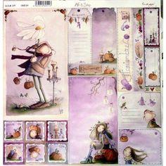 "Papel de Scrap ""Un año mágico Noviembre"" 30x30cm My Scrapbook, Scrapbook Paper Crafts, Printable Planner Stickers, Printables, Project Life Cards, Junk Art, Kids Artwork, Arte Popular, Cool Stickers"