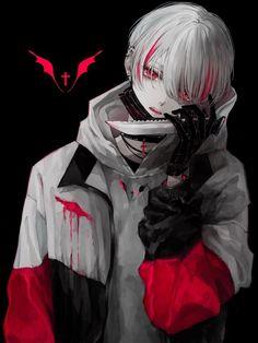 ツイッター - Everything About Manga Anime Demon Boy, Dark Anime Guys, Cool Anime Guys, Handsome Anime Guys, Cute Anime Boy, Dark Anime Art, Anime Oc, Kawaii Anime, Yandere Boy