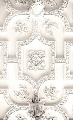White plaster ceiling - Where?