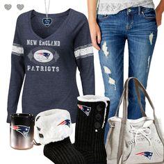 New England Patriots Fashion - Cozy Patriots Sunday