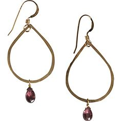 Apt. No 5 Teardrop with Pink Tourmaline