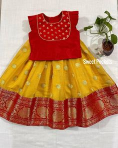 Indian Dresses For Kids, Gowns For Girls, Frocks For Girls, Long Frocks For Kids, Cotton Frocks For Kids, Baby Girl Frocks, Baby Girl Skirts, Baby Frocks Designs, Kids Frocks Design