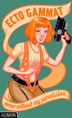 LISA STERLE! Leeloo shirts I love The Fifth Element, a lot. It has its flaws to be sure (not passing the Bechdel Test for one), but I would hope we'...