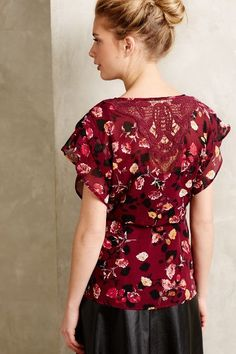 Rose Garden Kimono Blouse - anthropologie.com #anthrofave