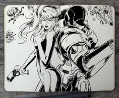 #317 Metroid by 365-DaysOfDoodles.deviantart.com on @DeviantArt