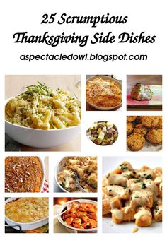 25 Scrumptious Thanksgiving Side Dishes