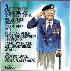 We will remember them!