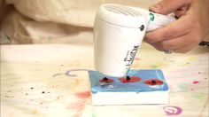 Faber-Castell Design Memory Craft: Paper Crafter Crayons Melting Techniques. Melt the Paper Crafter Crayons™ with Donna Downey to create stu...