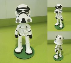 Stormtrooper Foam Rubber Figure by anapeig.deviantart.com
