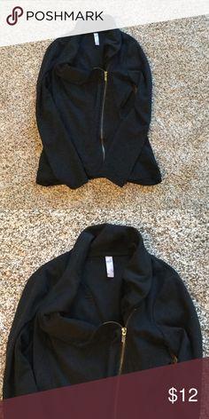 Black Zip Jacket Comfy black jacket Jackets & Coats