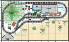 Track Plan for Christmas Display