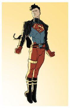 Superboy by Kris Anka