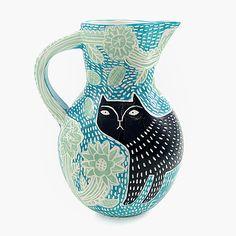 Vicky Lindo_Blue cat vase_Make14