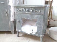 Katzenschlafplatz+,Katzenbett+von++++++♥♥♥Krewa+steht+für+Kreativ-Werkstatt♥♥♥+auf+DaWanda.com