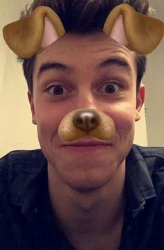 Shawn Mendes via Snapchat
