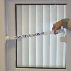 Sliding Glass Patio Door Security Bar