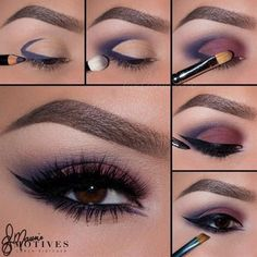 If you want to transform your eyes and increase your natural beauty, having the best eye make-up tips and hints can help. You want to make sure to put on make-up that makes you look even more beautiful than you are already. Gorgeous Makeup, Love Makeup, Makeup Inspo, Makeup Inspiration, Beauty Makeup, Black Makeup, Perfect Makeup, Men With Makeup, Makeup For Night Out