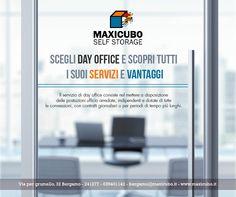 Hai bisogno di un ufficio? Scegli il nostro servizio di #DayOffice Per maggiori info contattaci al numero 035401142 o scrivici a bergamo@maxicubo.it http://www.maxicubo.it/day-office/ #Maxicubo #Selfstorage #Bergamo