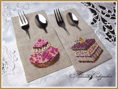 Французская вышивка - наборы для вышивания