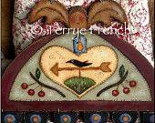 Simplify Prim Folk Angel - by Terrye French, E-Pattern