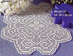 crochet em revista - see chart