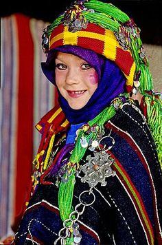 Marrueco-Niña Berber