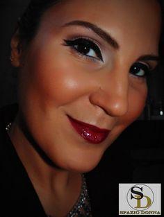 Black Eyeliner Makeup - Spazio Donna by Fabíola Alves