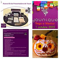 Younique kit de Presentadora , maquillaje, rimel 3D, mascara, Mexico
