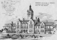 Oldmill Reformatory School for boys, Aberdeen