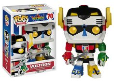 POP TV: Voltron - Voltron from Funko! Figure stands 3 3/4 inches and comes in a window display box. Check out the other POP figures from Funko! Collect them all!.