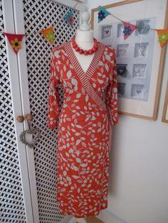 M&S Per Una Fixed Wrap Jersey Dress.