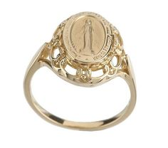 miraculous medal ring... I want one