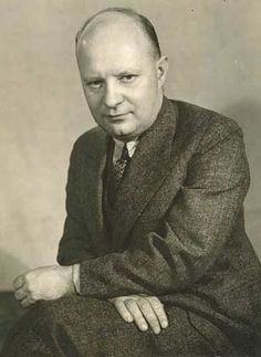 Paul Hindemith, German violist, educator, and composer. Symphony in B-flat for Band.