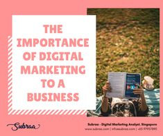 The importance of Digital Marketing to Business in Singapore in 2019 Digital Marketing Business, Digital Marketing Services, Web Design, Logo Design, Graphic Design, Growing Your Business, Singapore, Positivity, Logos