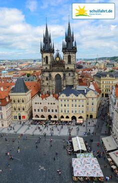 Die Altstadt von Prag. www.schulfahrt.de #Prag #Altstadt #Tschechien