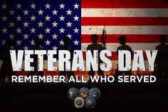 Here's a salute to all who served. Thank you for your service! #VeteransDay