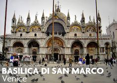 Traveling choirs can perform a cappella repertoire at one of our favorite Venetian venues - Basilica di San Marco! Isn't it gorgeous? #choirtour #TravelItaly #music