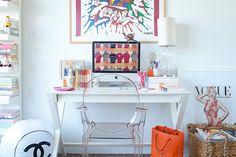 Shelves+desk