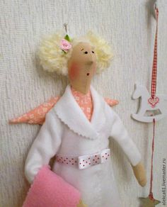 Купить Банная фея (кукла Тильда) - розовый, кукла интерьерная, кукла в подарок, кукла Тильда ♡