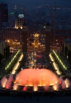 Barcelona's Magic Fountain of Montjuic