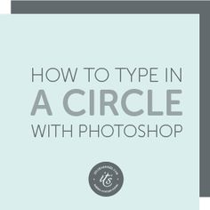 Have you ever seen text running around the edge of a circle or along a curved line? You may have seen it on a button or badge, or on a blog or social media image.Today's video will introduce you to paths and show you how to create a circular badge for your website or social media images. Schedule