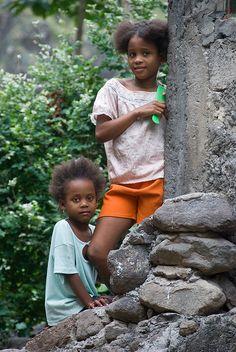 Children of Cape Verde. (Cape Verde, West Africa)