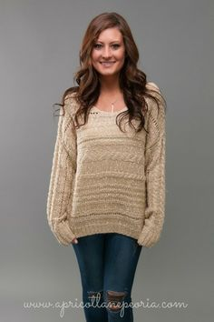 Speckled Oatmeal Sweater