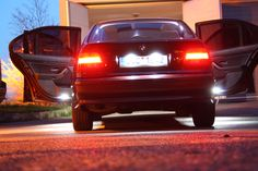 BMW e39 royal red 520i