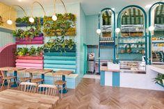 Piada restaurant by Masquespacio, Lyon – France » Retail Design Blog