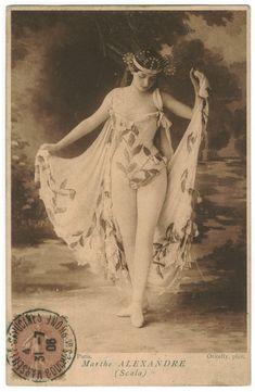 jungfrukallan:  Ballet Dancer - Marthe Alexandre.