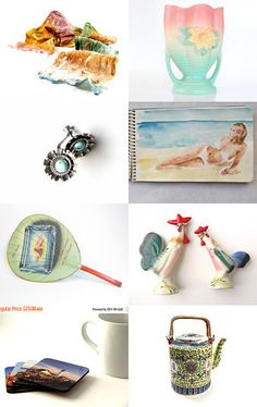 Spring Colors  by Anne on Etsy--Pinned with TreasuryPin.com