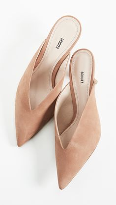 Schutz Alanna Point Toe Mules | SHOPBOP SAVE UP TO 25% Use Code: GOBIG18
