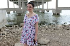 Caroline from Sew Caroline shares a free pattern to make her Boat Club Dress & Swimsuit Cover Up. Made from a lightweight knit fabric, it has a surplice (cross over) bodice and a gathered skir… Sewing Clothes, Diy Clothes, Clothes For Women, Dress Sewing, Club Dresses, Nice Dresses, Summer Dresses, Sewing Patterns Free, Free Pattern