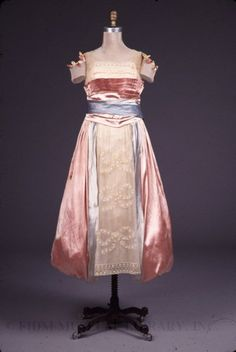 Evening dress by Lucile, circa 1917, FIDM Museum